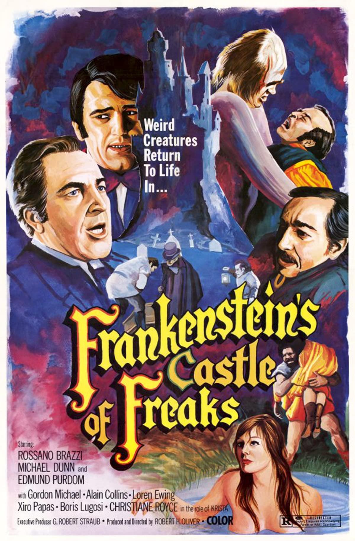 Frankenstein Castle Of Freaks